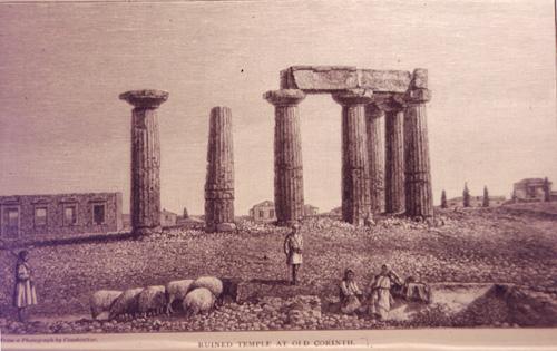 temple apollon corinthe